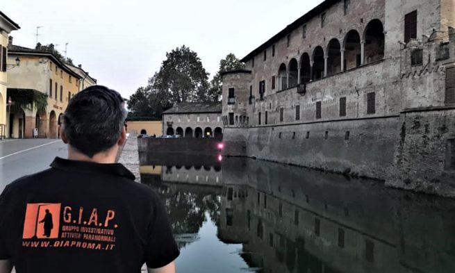 Gruppo Investigativo Attività Paranormali di Roma a caccia di fantasmi nel Castello di Fontanellato